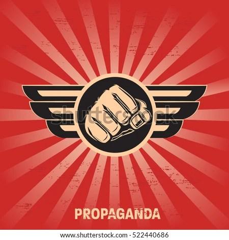 Propaganda Poster Template Stock Vector 522440686 - Shutterstock - propaganda poster template
