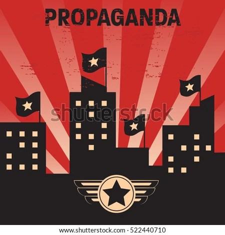 Propaganda Poster Template Stock Vector 522440710 - Shutterstock - propaganda poster template