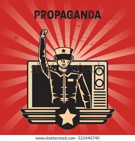 Propaganda Poster Template Stock Vector 522440740 - Shutterstock - propaganda poster template