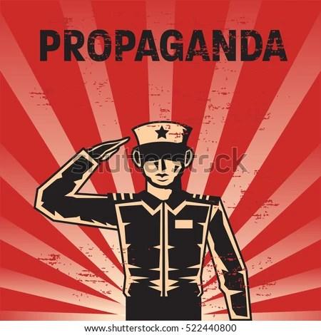Propaganda Poster Template Stock Vector (2018) 522440800 - Shutterstock - propaganda poster template