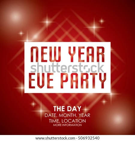 New Year Party Poster Template Stock Vector 506932543 - Shutterstock - new year poster template