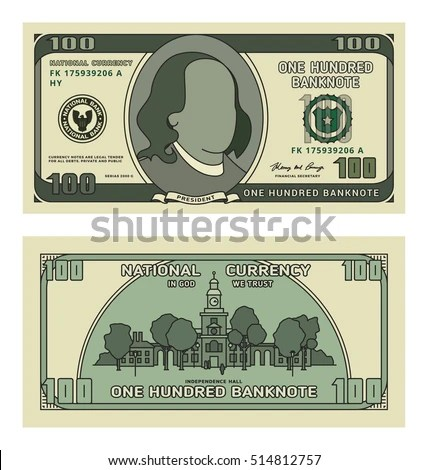 Money note template best resumes dollars template stock images royalty free images vectors money note template pronofoot35fo Choice Image