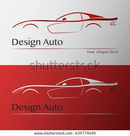 Design Car Business Card Template Vector Stock Vector 639774640