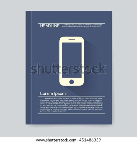 Business Design Background Cover Book Report Stock Vector 451486339