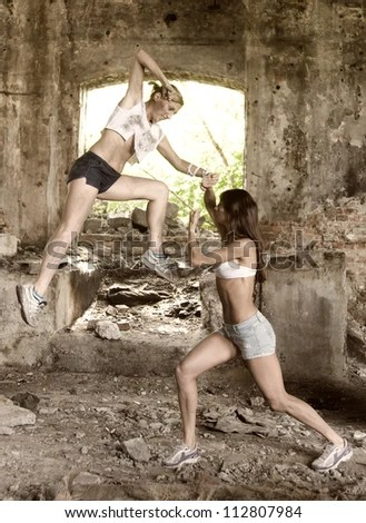 women boxing men xx