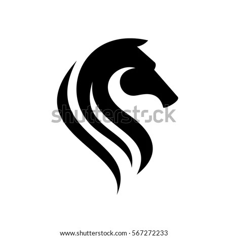 stock-vector-the-letter-s-in-the-form-of-a-horse-horse-head-emblem - letter of recognition