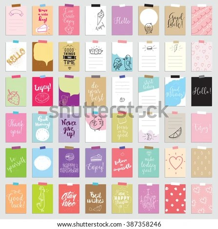 Templates Greeting Scrapbooking Planner Congratulations Stickers