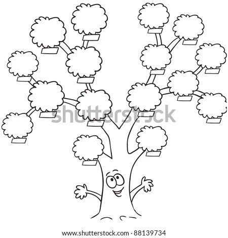 How to draw a family tree diagram step by step