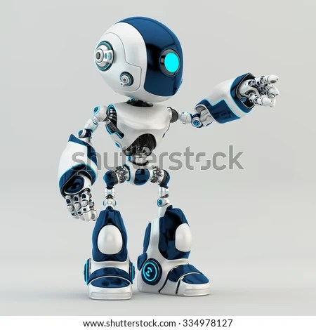 3d Wallpaper Cute Touchscreen Robot Stock Images Royalty Free Images Amp Vectors