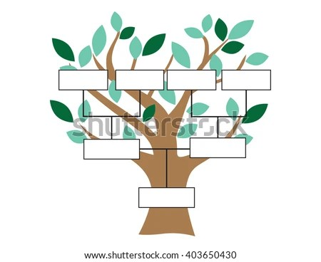 How to draw family tree 13 generations