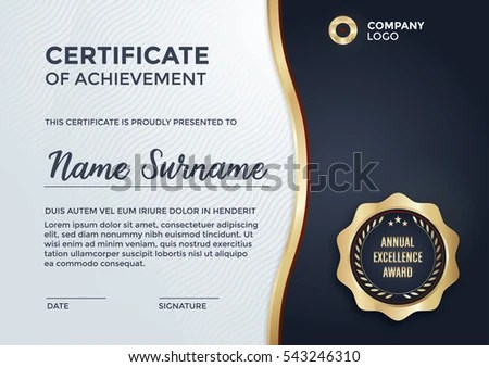 certificate design format lukex - certificate design format