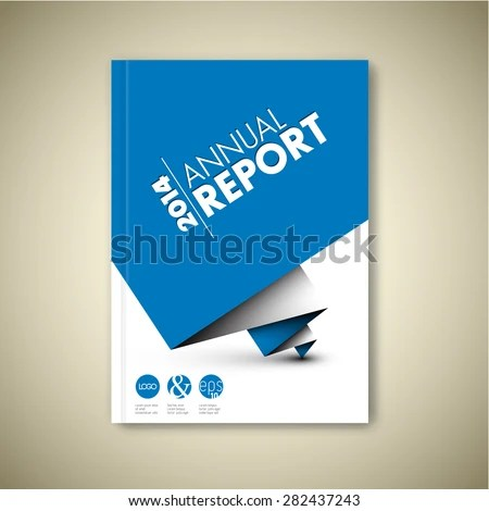 report front page template