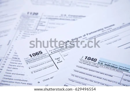 Us Tax Form Background Foto Stock 559615279 - Shutterstock - tax form