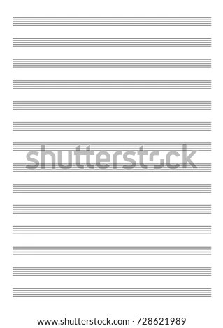 empty music sheet - Towerssconstruction