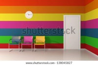 Colorful Wall Stock Images, Royalty