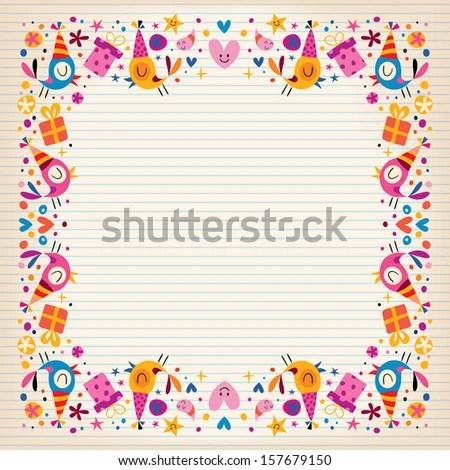 Lined Border Paper Jobsbillybullock - lined border paper