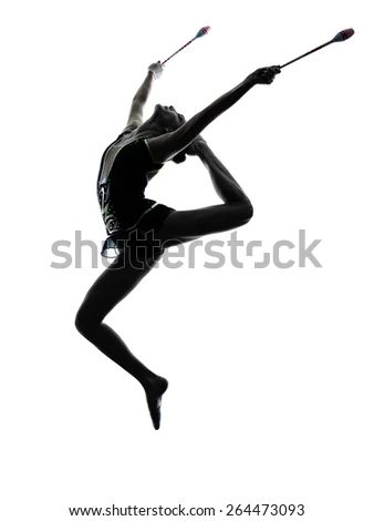 Rhythmic gymnastics stock images royalty free images