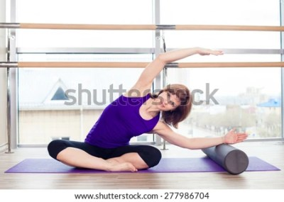 Foam Roller Stock Photos, Images, & Pictures | Shutterstock