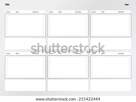Vertical Storyboard Sample Vertical Template Vertical Template City