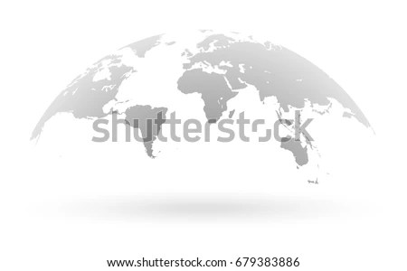 world map grey style acrylic print canvas print grey map home
