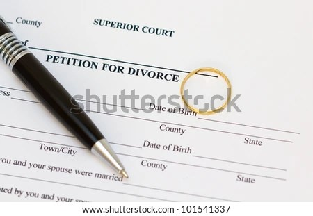Divorce-papers Stock Images, Royalty-Free Images \ Vectors - blank divorce papers