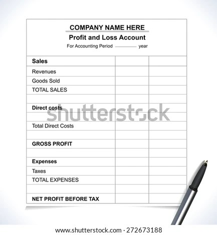 Profit And Loss Stock Images, Royalty-Free Images \ Vectors - business profit and loss
