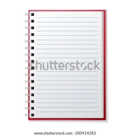 Notebook Page Stock Images, Royalty-Free Images \ Vectors - lined page