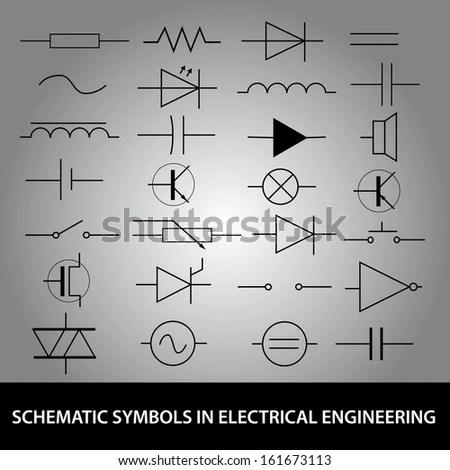Electrical Schematic Symbols Transformer Engineer Icon www