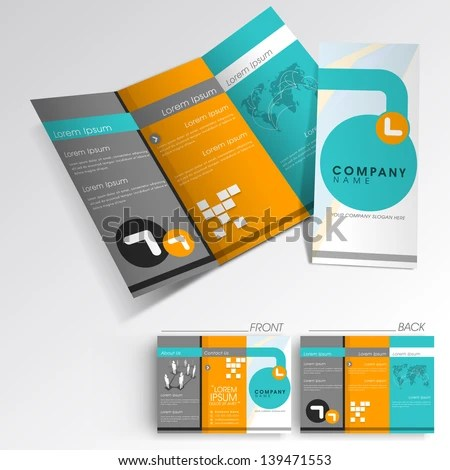 brochure graphic design inspiration - Google Search Branding - business pamphlet templates free