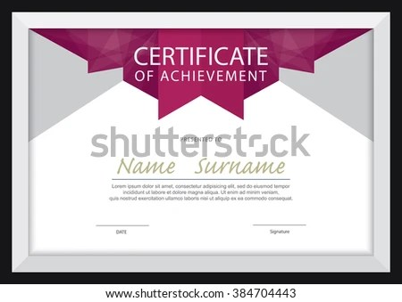 cooking certificate template – Certificate Layout