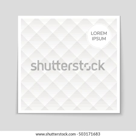 Abstract Vector Layout Background Set Art Stock Vector 503171887 - blank sign in sheet