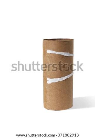 Empty Toilet Paper Roll Stock Photo 371802880 - Shutterstock