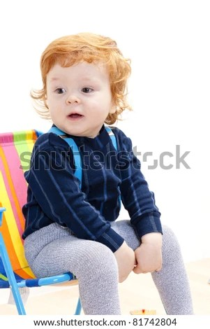 Sad Little Child Boy Hugging His Stock Photo 523759153