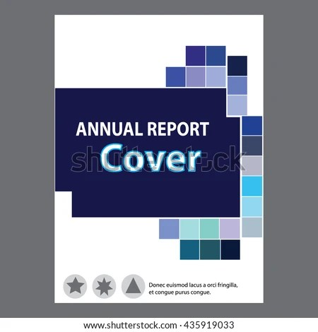 Green Cover Design Vector Illustration And Cover Annual Report Stock
