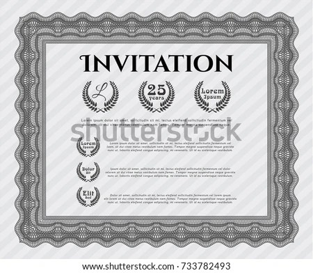 Formal Invite Templates  BesikEightyCo