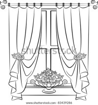 Wedding Arch Wedding Altar Decoration Vector Stock Vector ...