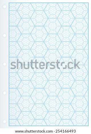 hexagon graph paper pdf - Josemulinohouse - hexagonal graph paper template
