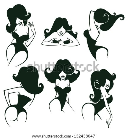 Coop Devil Girl Wallpaper Pin Up Stock Photos Images Amp Pictures Shutterstock