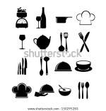 Eating Restaurant Icon Vector