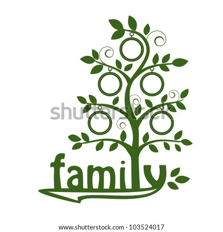 Family Tree Stock Vector HD (Royalty Free) 103524017 - Shutterstock