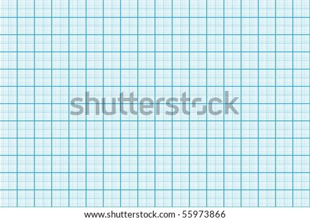 Blue Colored Graph Paper Stock Illustration 55973866 - Shutterstock