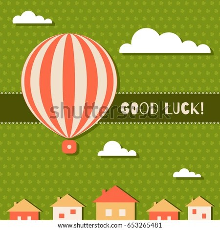 ... Good Luck Card Template 83 Good Luck Card Templates   Canva 20 ...  Good Luck Card Template
