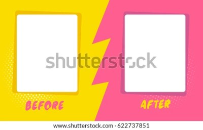 Template Background Before After Comics Style Stock Vector (Royalty Free) 622737851 - Shutterstock