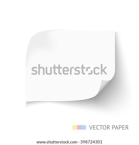 Set Holes White Paper Torn Sides Stock Vector 388268248 - Shutterstock - white paper template