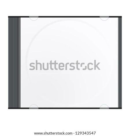 Cd Case Vector Illustration Stock Vector 129343547 - Shutterstock