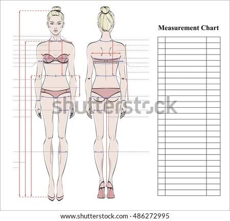 Printable Human Body Measurement Diagram Wiring Schematic Diagram