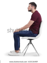 Sitting On Chair Stock Images, Royalty-Free Images ...
