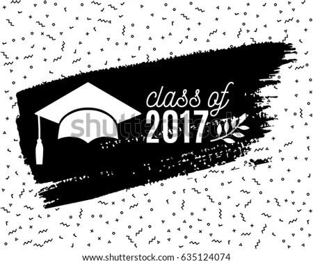 2017 Graduation Invitation Background