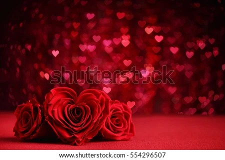 Falling Rose Petals Wallpaper Roses Bouquet Hearts Background Valentine Wedding