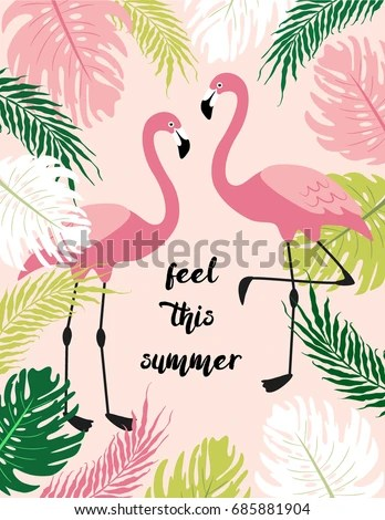 Animal Print Wallpaper Border Cute Exotic Tropical Background Cartoon Characters Stock